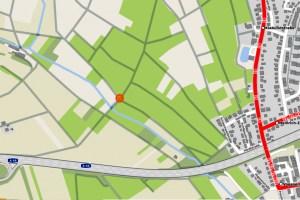 Grunselsbörnchen im Freiteigebiet bei Schierstein ©20200 Openstreetmap