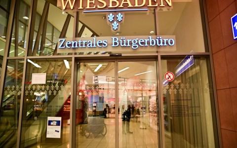 Zentrales Bürgerbüro im Luisenforum