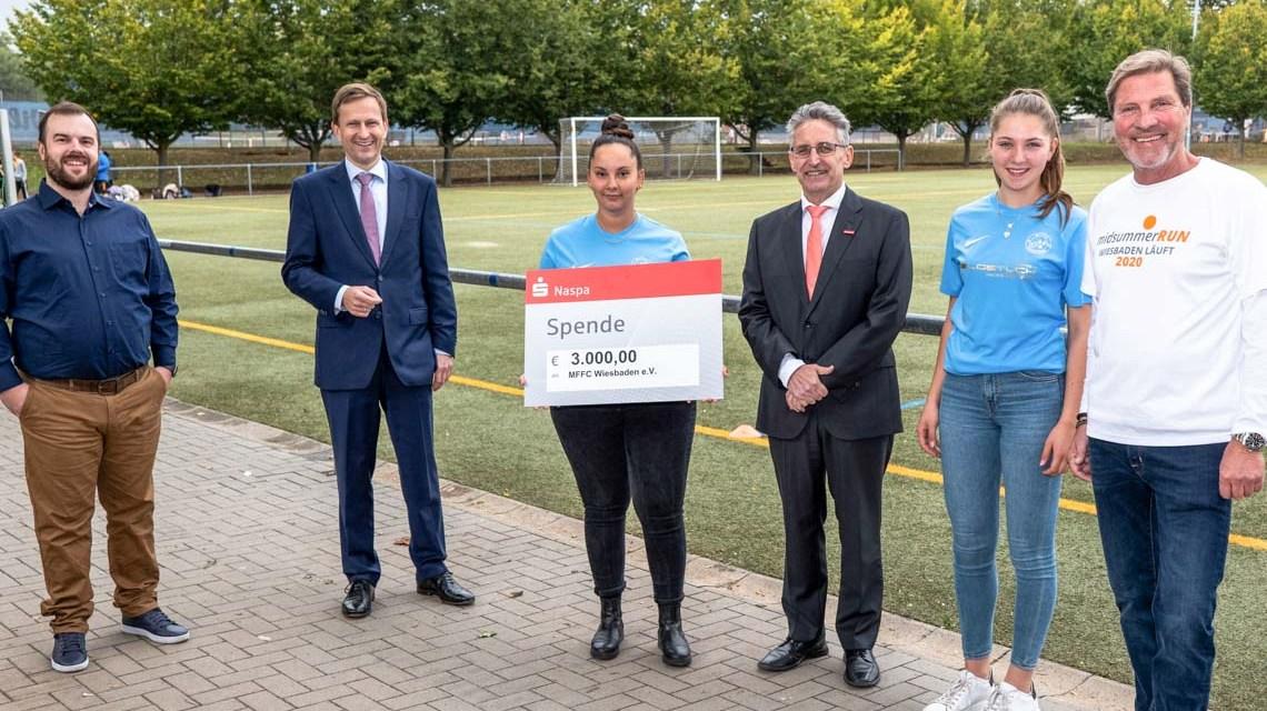 Sporthilfe Wiesbaden spendet an gebeutelte Sportvereine
