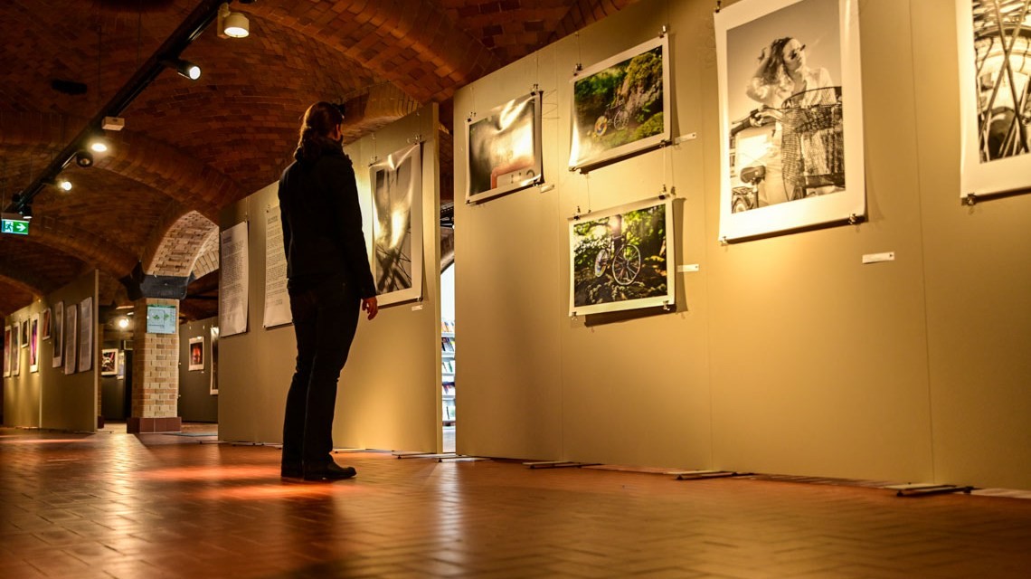 Ausstellung: Fahrradfahrenfotografieren