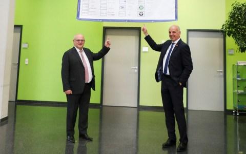 Bernd Ehinger (li.) und Stefan Füll
