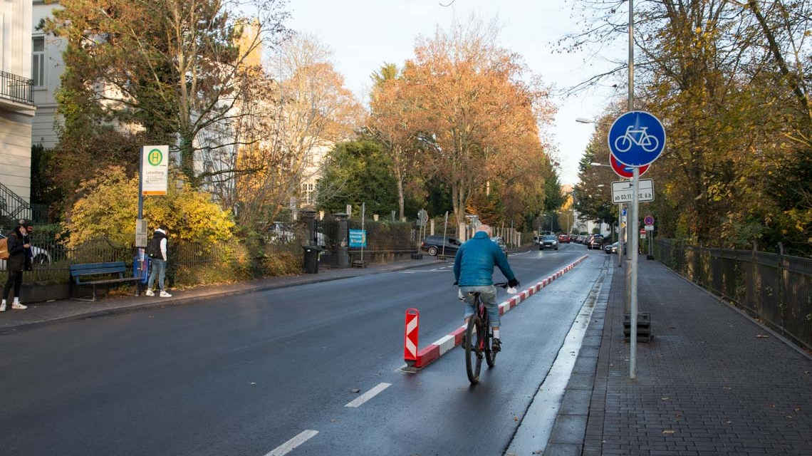Fahrradweg Sonnenberger Straße