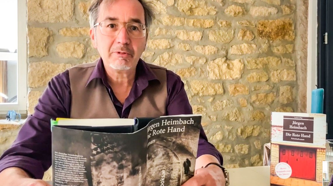 Juergen Heimbach liest Die rote Hand