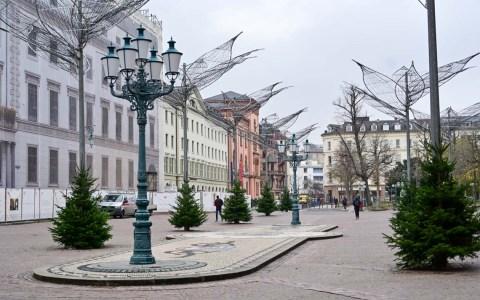 Wiesbadener Schlossplatz