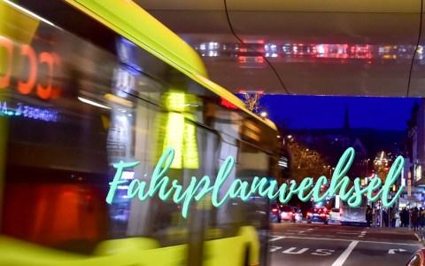 ESWE Verkehr Fahrplanwechsel