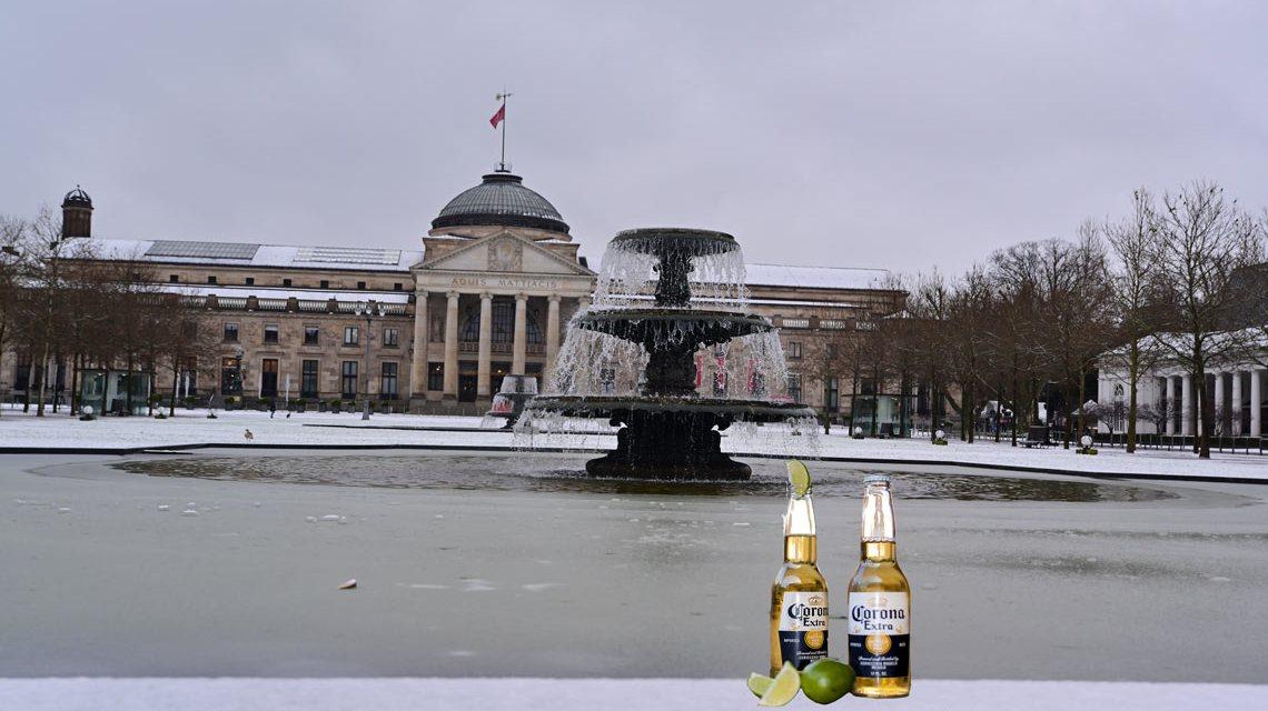 Alkoholverbort in der Öffentlichkeit auf belebten Plätzen