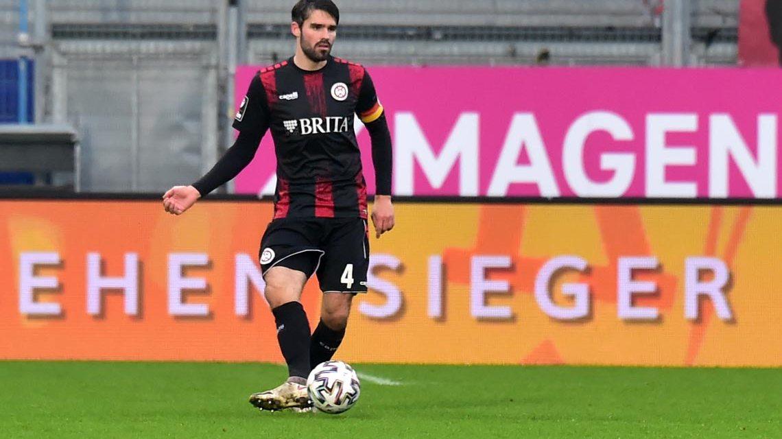 Sascha Mockenhaupt, 3. Liga, 23. Spieltag, SV Wehen Wiesbaden – Türkgücü München, 2:1