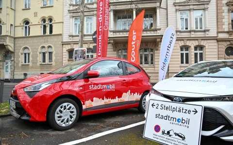 Drei Carsharing-Anbieter und elf neue Stationen in Wiesbaden Foto: Volker Watschounek