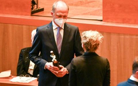 Dr. Gerhard Obermayr und Daniela Georgi