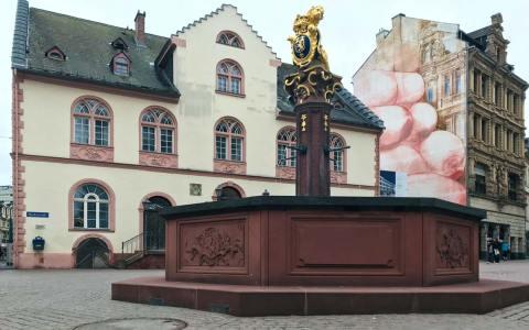 Marktbrunnen auf dem Schlossplatz