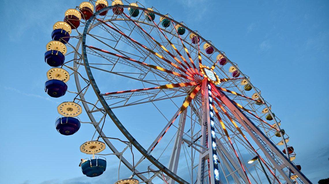 Das Riesenrad in Eltville war die Sommerattraktion 2020.. Jetzt ist sie wieder da