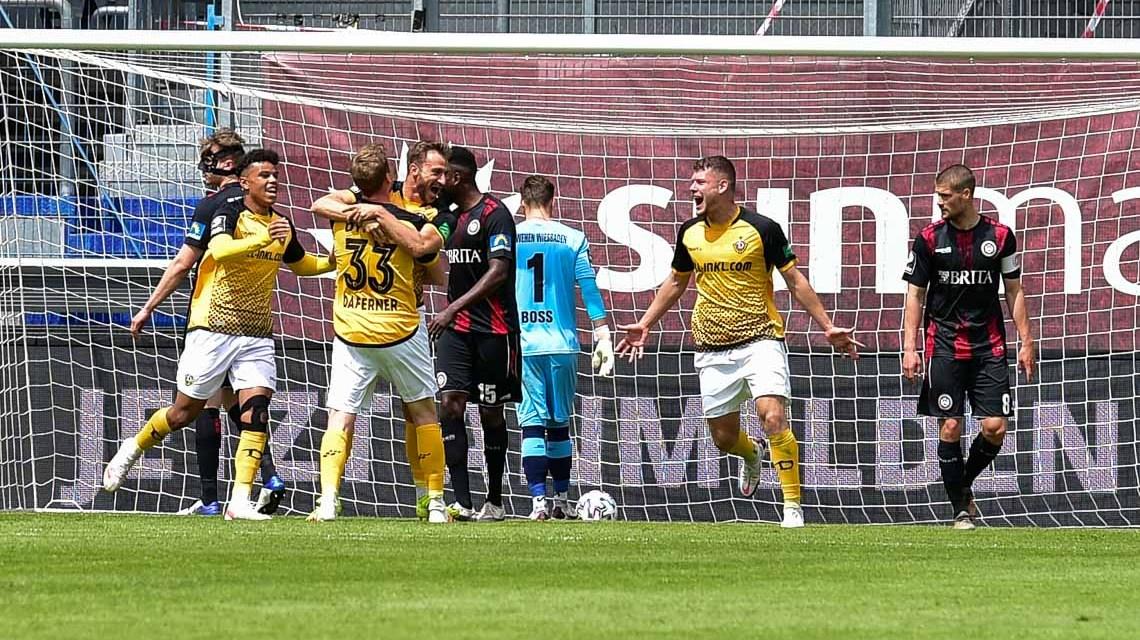 2020.2021, 3. Liga, 38. Spieltag, SV Wehen Wiesbade - Dynamo Dresden, 0:1