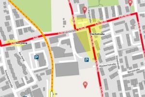 PÖNV Karte Carl-von-Linde-Straße