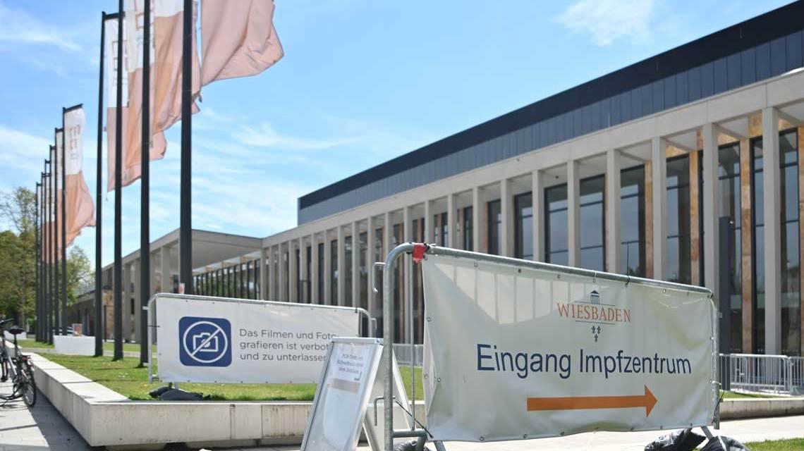 Impfzentrum Wiesbaden