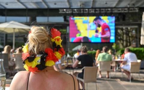 EM 2021: Public Viewing Deutschland - Portugal