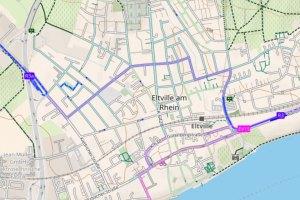 Bahnübergang Kiedrich ©2021 Openstreetmap