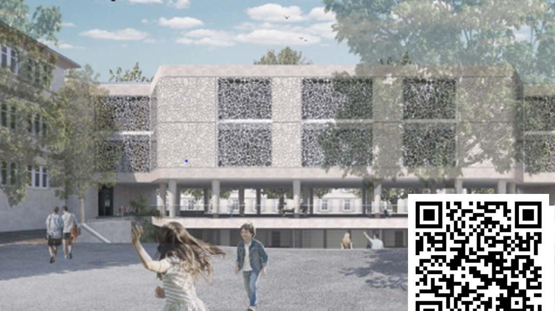 Erweiterung der Hebbelschule @2021 LH Wiesbaden