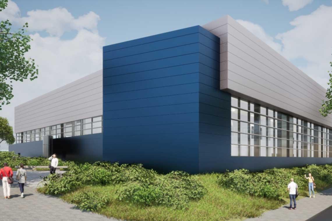 Sporthalle Wettiner Straße, Visualisierung