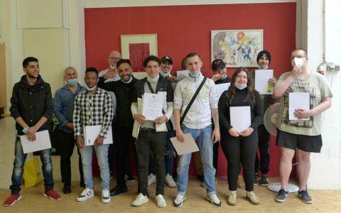 Absolventen der Bauhaus-Werstätten