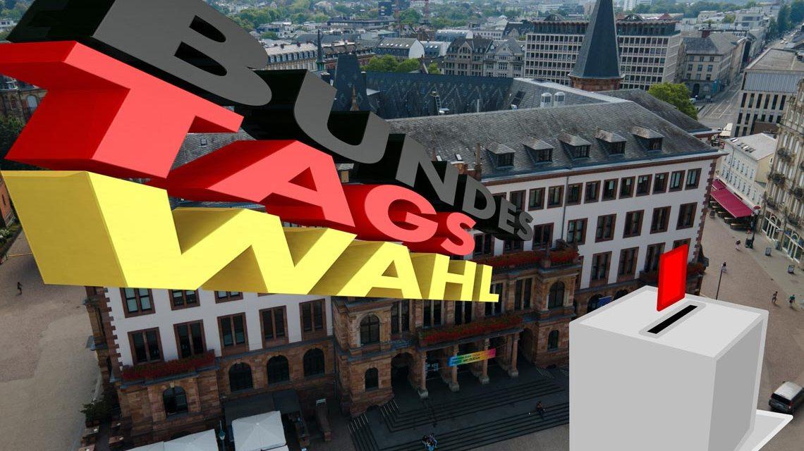 Zulassung der Wahlvorschläge, Bundestagswahl