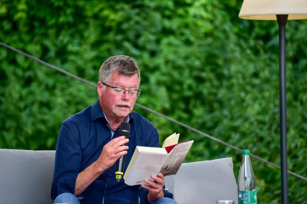 Arno Gossmann beim Literaturfestival