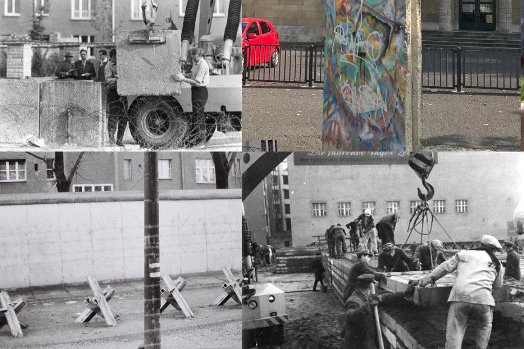 Berliner Mauer, Kollage