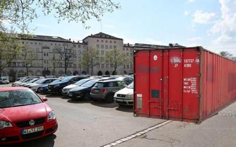 Micro-Hubs, Mikro-Depot für Lieferdienste auf dem Elsässer Platz