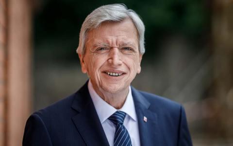 Ministerpräsident Volker Bouffier, Schnelltest
