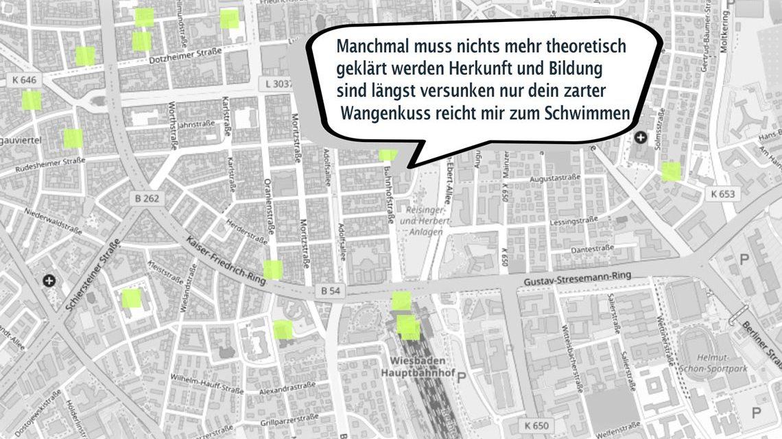 Interaktives Onlineprojekt für die 22. Wiesbadener Literaturtage