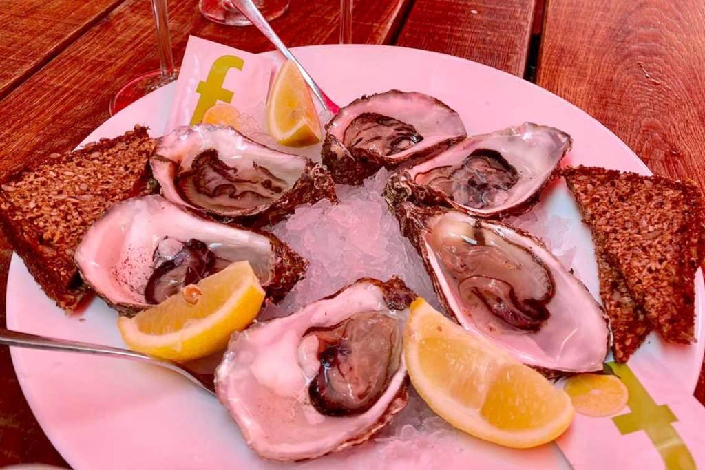 Austern schlürfen auf Sylt
