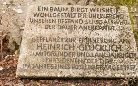 Gedenktafel vor seinem Haus in Bad Urach, Schwäbische Alb © Raimond Spekking / CC BY-SA 3.0