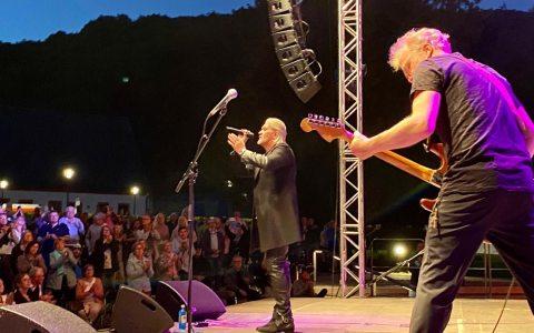 Johnny Logan beim Rheingau Musik Festival.