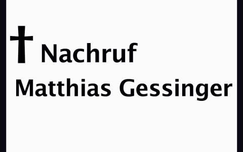 Matthias Gessinger