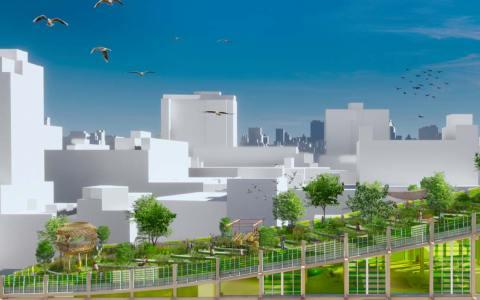 Ostfeld, der Stadtteil der Zukunft