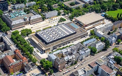 Wiesbaden aus der Vogelperspektive