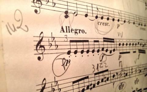 Noten für Violine: Die Zauberflöte ©2021 Pixabay