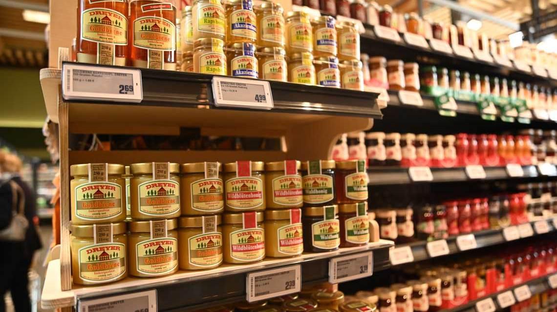 REWE Neueröffnung in Erbenheim, ein Markt zum Entdecken. Hier gibt es viele regionale Produkte, die es anderswo nicht gibt.