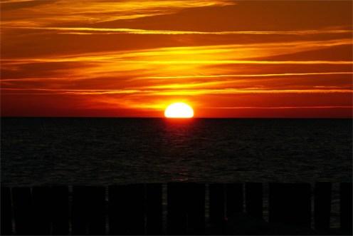 Sonnenuntergang an der Ostsee...ein Traum