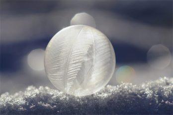Die mit den Flairs - gefrorene Seifenblase -