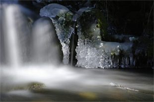 Eisjuwelen im Höllengrund