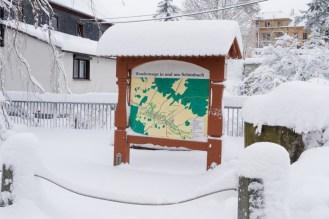 Wanderkarte Schönbach