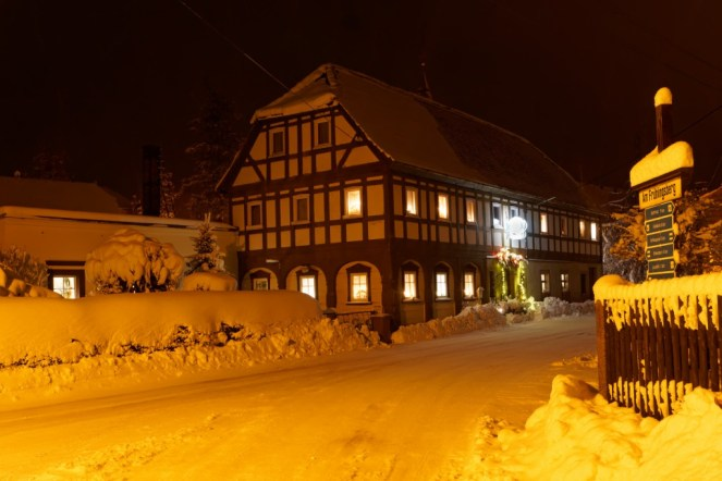 Gasthaus Thomas , Nachts