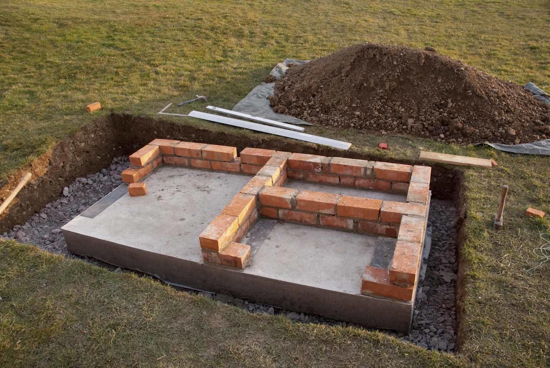 Bau eines Holzbackofens von Häusslers Holzbackofens von Häussler