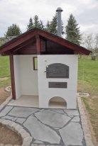 Bau eines Holzbackofens von Häussler