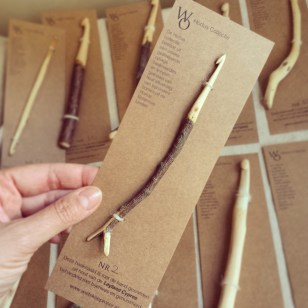 packaging of the limited edition crochet hooks botanical collection
