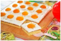 Spiegelei-Kuchen zum Kindergeburtstag - Food & Travel-Blog