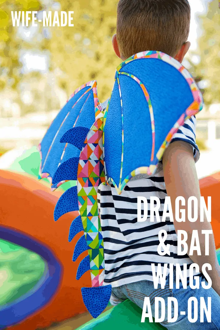 Wife-made Dragon & Bat Wings Add-on