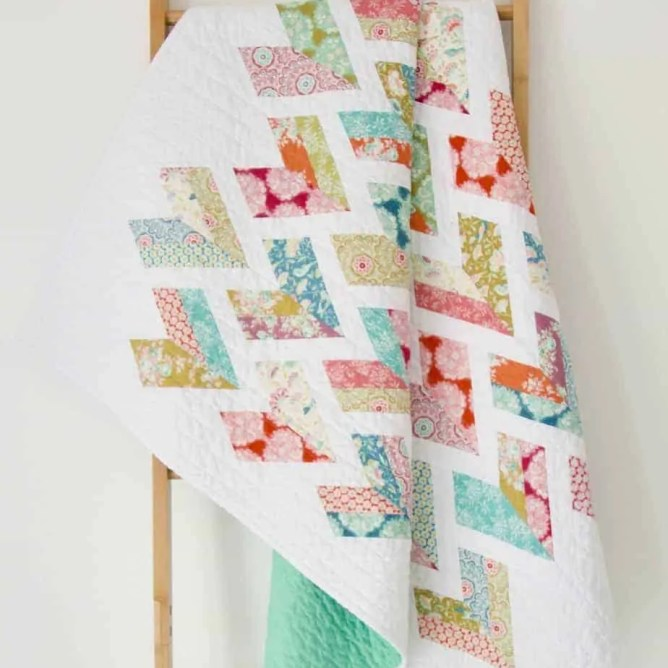 Wife-made Lovebird Quilt Pattern