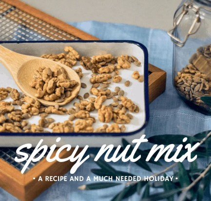 Wife-made spicy nut mix recipe