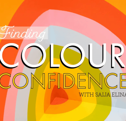 Finding Colour Confidence with Saija Elina